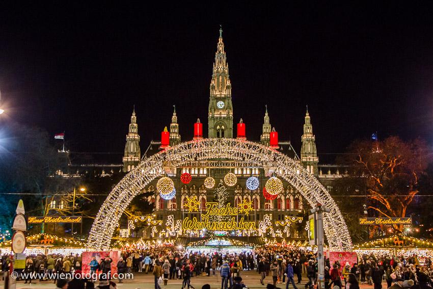 Wien 1. Bezirk im Advent 2016